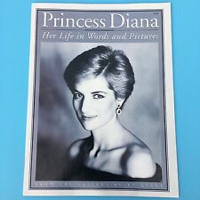 TV Guide Magazine Princess Diana Life in Words Pictures 1997 Royal Family NEW