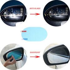 AM_ FM_ 2x Car Rearview Mirror Protective Film Anti Fog Window Foils Rainproof V