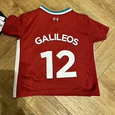 Nike Liverpool Red Kids Home 2020-21 Stadium Football Shirt M Age 6-9 Months #L8