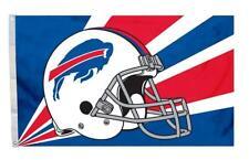 Buffalo Bills 3x5 Flag - Helmet Design [New] Nfl Banner Sign Fan Wall Cave