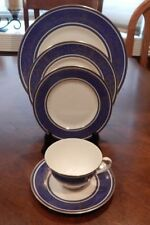 """ROYAL DOULTON """"ROYAL WINDSOR"""" 5 PIECE PLACE SETTING (S) MADE ENGLAND H4970 MINT"""