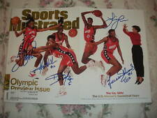 USA Women's Basketball Team SIGNED Sports Illustrated