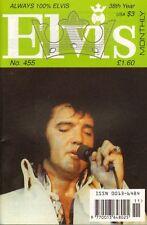 ELVIS MONTHLY No. 455 - 1997 (UK FANCLUB MAGAZINE ELVIS PRESLEY)