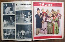 December 25, 1960 TV WEEK newspaper magazine - choir of the Garry Moore show