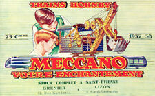 Meccano Trains Hornby Diecast Nostalgic French Advertising Repro POSTER