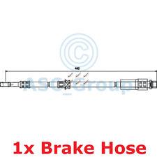 APEC BRAKING 445mm Scheibe Bremssattel flexibel GUMMISCHLAUCH hos3748