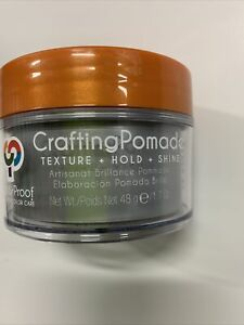 ColorProof Crafting Pomade Texture plus Hold And Shine 1.7 oz Pomade Authentic