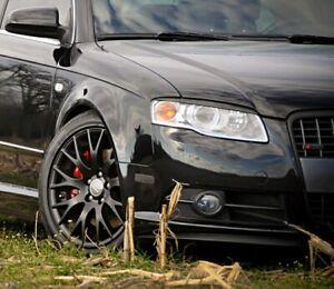 Für Audi A4 S4 RS4 B7 8E 8H Scheinwerfer Blenden Spoiler Böser Blick