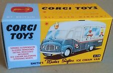 Corgi 428 Smith's Ice Cream Van Empty Repro Box Only