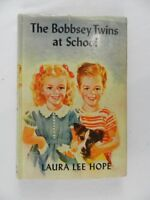 Vintage 1941 The Bobbsey Twins at School #4 by Hope Laura Lee HC DJ
