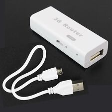 Mini Portable 3G/4G Wireless USB WiFi Hotspot Router AP 150Mbps 802.11b/g/n RJ45