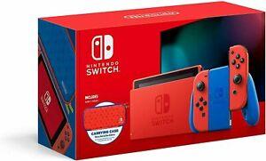 Nintendo Switch Mario Red & Blue Edition Red Joy-Con