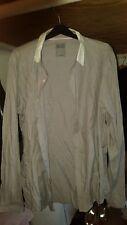 Mens long sleeve shirt Regular fit Grey shirt