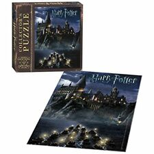 Harry Potter Beautiful Puzzle of Hogwarts Castle Night, 550 Piece, 18x24 Inch