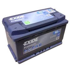 EXIDE PREMIUM Carbon Boost EA 900 12V 90AH Neuestes Model 2014/15 EN (A):720