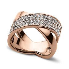 MICHAEL KORS Damen Ring Farbe:Rose Gold Edelstahl MKJ2869791  Gr. 17  Neu