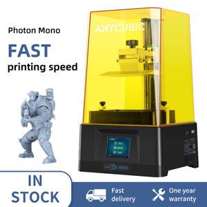 Anycubic SLA LCD UV Résine Photon Mono Imprimante 3D Haute vitesse 130*80*165mm