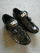 Sidi Kaos Road Bike SPD Cycling Shoes Black - Size 43