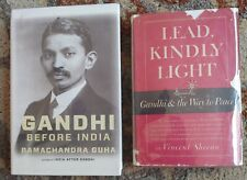 Signed! Vincent Sheean Lead Kindly Light Gandhi Way to Peace 1st Edition 1949