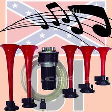 SWBH1 12v Duke Of Hazzard Dixie Land Dixieland Musical Tune Car Van Air Horn Kit