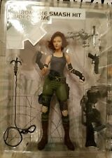 Collectible MERYL SILVERBURGH--METAL GEAR Tactical Espionage Action Figure