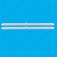 2x 400W Halogen Heater Replacement Tubes 195mm Fire Bar Heater Lamp Element Bulb