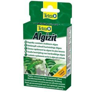 Tetra Algizit 10Tab remove kills stubborn algae treatment beard brush strong