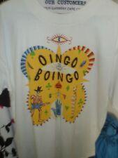 Collectors Rare OINGO BOINGO FAREWELL HALLOWEEN 1995 Concert t-shirt Men's L