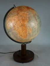 Globus Paul Räth's Relief Erdglobus von 1950 von Prof. Dr. Arthur Krause. 51cm h