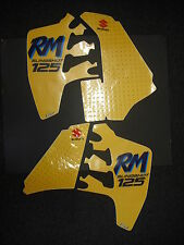 Suzuki RM 125 RM125 1989 Rad & Tank Decals Graphics Stickers