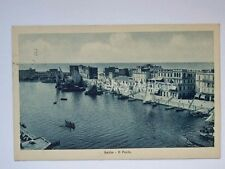 ANZIO il Porto barche vela Roma vecchia cartolina