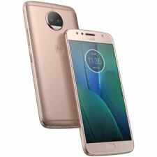 Motorola Moto G5S Plus (XT1803) Android Smartphone Unlocked Blush Gold