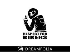 Motorrad Aufkleber Peace Zeichen Auto Tuning Motorsport Biker On Board