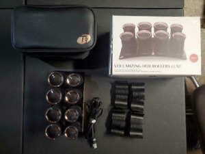 T3 73709 Volumizing Hot Rollers Luxe - 8 Count -OPEN BOX