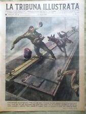La Tribuna Illustrata 16 Marzo 1947 Corrida Messico Calcio Furti Pin-up Mazzini