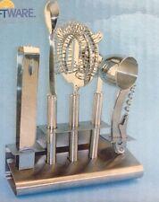 Kraftware Bar Tool Set 18/10 Stainless  6 Pieces