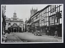 Shropshire LUDLOW The Buttercross Broad Street c1954 RP Postcard by Frith LW35