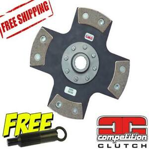 Competition Clutch 4 Puck Solid for Mazda Turbo II RX7 B2600 MX6 Stage 5