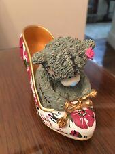 Me To You Figurine - Walking On Sunshine - 2013 - Tatty Teddy Bear Shoe Higheels