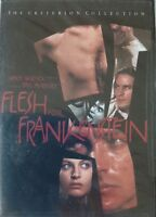 Flesh for Frankenstein (DVD,1998,Criterion Collection) Special Edition / Region1