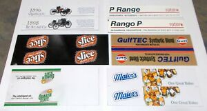 Winross Truck Side Panels Quaker State, Slice, Ford, Gulf, Maier's uncut