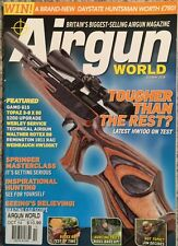 Air Gun World Tougher Than The Rest Springer Master Class Oct 2014 FREE SHIPPING