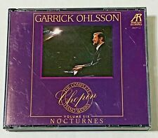 Garrick Ohlsson: The Complete Chopin Piano Works Volume Six  (1995, 2 CD Set)