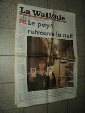 LA WALLONIE 1997/03/07 CELINE DION U2 CHRISTOPHE MALAVOY ROBERT CHARLEBOIS