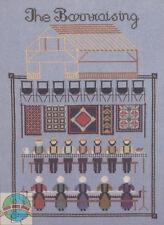 Cross Stitch Chart / Pattern ~ Told In A Garden Amish Farm Barn Raising #TG13