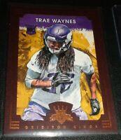 Trea Waynes (Rookie) Framed SP, Minnesota Vikings, Spartans, Drafted 1st Rd.