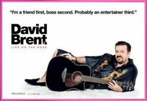 David Brent: Life On The Road Poster & Plastic Frame Pink (36x24inches) #AN7SA