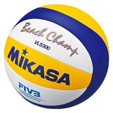 MIKASA VLS300-BEACH CHAMP-OFFICIAL FIVB OUTDOOR GAME VOLLEYBALL