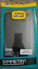 NEW! OtterBox Samsung Galaxy Note 4 Case Symmetry Black