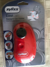 Zyliss EasiCan Electric Can Opener, Red New in Package